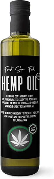 Forest Super Foods Certified Organic Tasmanian Hemp Oil Cold Pressed 250ml