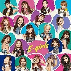 E.G. summer RIDER♪E-girlsのCDジャケット
