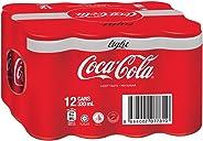 Coca-Cola Light, 320ml (Pack of 12)