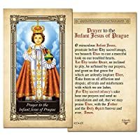 The Infant Jesus of PragueラミネートPrayerカード–パックof 3