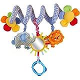 ASDSH ベビー ベッド ハンギング メリー 赤ちゃん ジム ベビーカー ベビー用おもちゃ ガラガラ 知育玩具 プレゼント