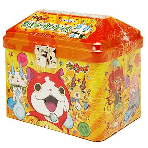 プリチー 缶ケース (小物入れ) オレンジ 3匹 ジバニャン...