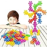 ColorGo ブロック セット 子ども 知育玩具 プラスチック 積み木 子供おもちゃ 女の子 男の子 立体パズル