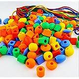 紐通し おもちゃ幼児教育キッズ 3歳 4歳 5歳 育児 知育 出産祝い 子供プレゼント 形の認知 知育玩具