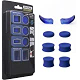 PS4 FPS Games Accessories Kit Anti Slip Silicon Analog Stick Thumb Grips Set with Trigger Extensions for Playstation 4 / Slim