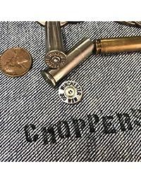 ピストル弾 ヘッドスタンプ ピンズ ピンバッジ バレット ラペルピン 45口径 ウィンチェスター 300 WSM アメリカン雑貨