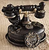 インテリア雑貨 ミニチュアオーナメント 電話 貯金箱 アンティーク雑貨
