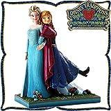 木彫り調フィギュア アナとエルサ(アナと雪の女王) ディズニー・トラディション