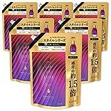 レノア オードリュクス 柔軟剤 スタイルシリーズ ブルーミングパッション 詰め替え 約1.5倍(600mL)x6袋