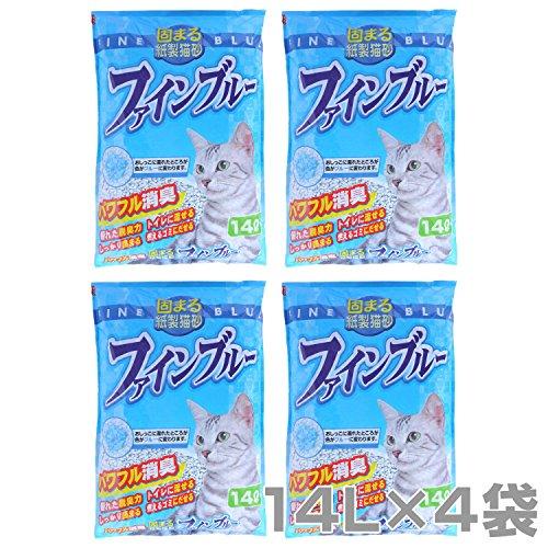 常陸化工 【日本製】 紙製猫砂 ファイン...