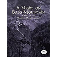 Moussorgsky: A Night on Bald Mountain: Fantasy for Orchestra in Full Score