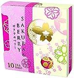 LUPICIA (ルピシア) 2018 SAKURA & BERRY(サクラ&ベリー) ティーバッグ10個 限定デザインBOX入 (5604) 紅茶