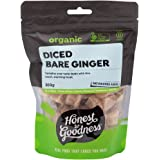 Honest to Goodness Organic Diced Bare Ginger, 300g