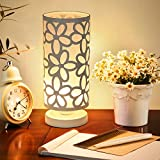 Nilight シンプルでモダンなテーブルランプ デスクライト 彫刻ランプ (Aタイプ, ホワイト)