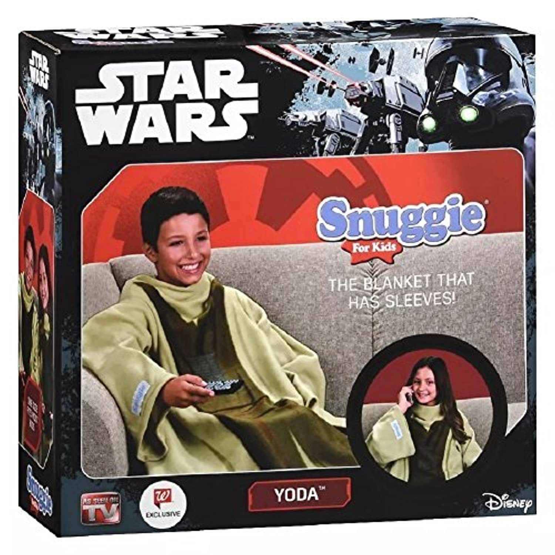 [Snuggie]Snuggie Star Wars For Kids Yoda B01MYSTQS5 [並行輸入品]