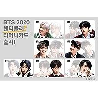 [NEW] T-money BTS 防弾少年団 2020 レンチキュラー VER. ティーマネー 韓国公式交通 カード (ALL MEMBER SET) [並行輸入品]