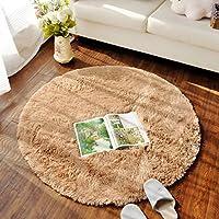 床暖房 丸い 円形 ラグ 滑り止め付き 丸洗い 折り畳み可 直径80~160cmマット カーペット 防音絨毯 低反発