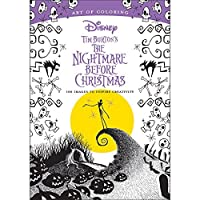 Art Of Colouring Disney's Nightmare Before Christmas 128 Page Holiday Book