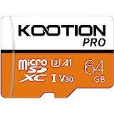 64 GB Micro SD Card Ultra Micro SDXC Memory U3 Class 10 High Speed TF Card R Flash, C10, U3, 64 GB