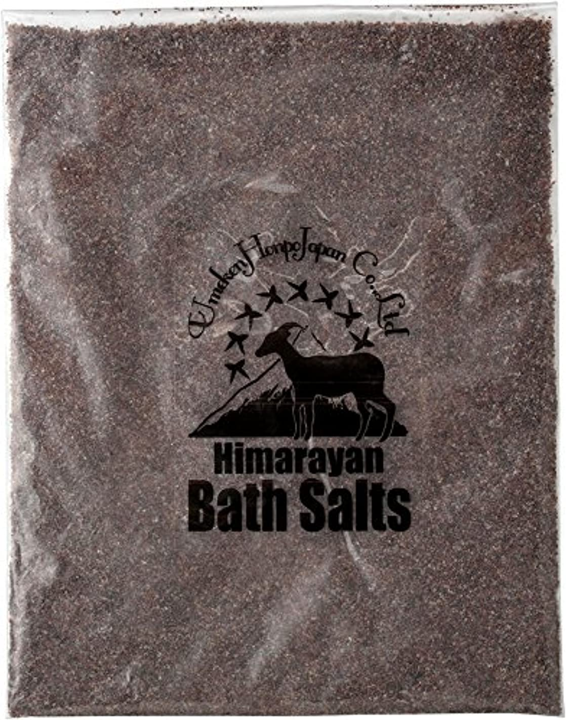 ミケランジェロ磨かれた消毒剤ヒマラヤ岩塩 バスソルト ブラック あら塩 1kg
