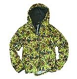 マック 防水防寒 中綿 レインジャケット AS-3700 と 脂とりハンカチ (c【迷彩b-3L】)