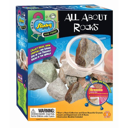 (3) - Slinky PS02031 All About Rocks Kit - Pack of 3