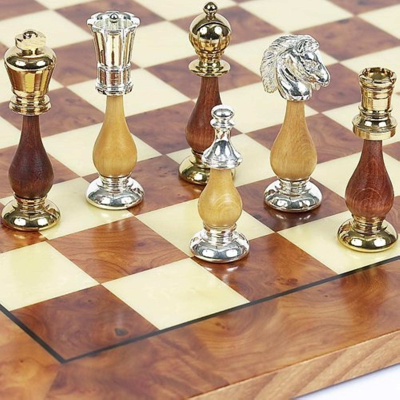 Bello Collezioni – Francesca Chessmen 24 Kゴールド/シルバーメッキイタリアから