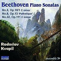 Beethoven: Piano Sonatas 5/8/3