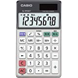 カシオ CASIO グリーン購入法適合電卓 8桁 時間・税計算 手帳タイプ SL-910GT-N 118.5mm×70mm