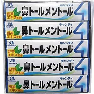 森永製菓 鼻トールメントール キャンディ (10本(1箱))