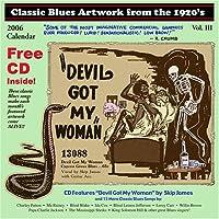 Classic Blues Artwork 1920's Calendar 2006