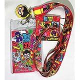 DC Comics(DCコミック)Teen Titans(ティーン?タイタンズ)Lanyard with Screen Cleaner Dangle(名札 首ひも) [並行輸入品]