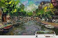 pigbangbang、20.6X 15.1インチ、ハンドメイドintellectivゲームプレミアム木製DIY接着のJigsaw Nice Painting–アムステルダムPainting–500ピースジグソーパズル