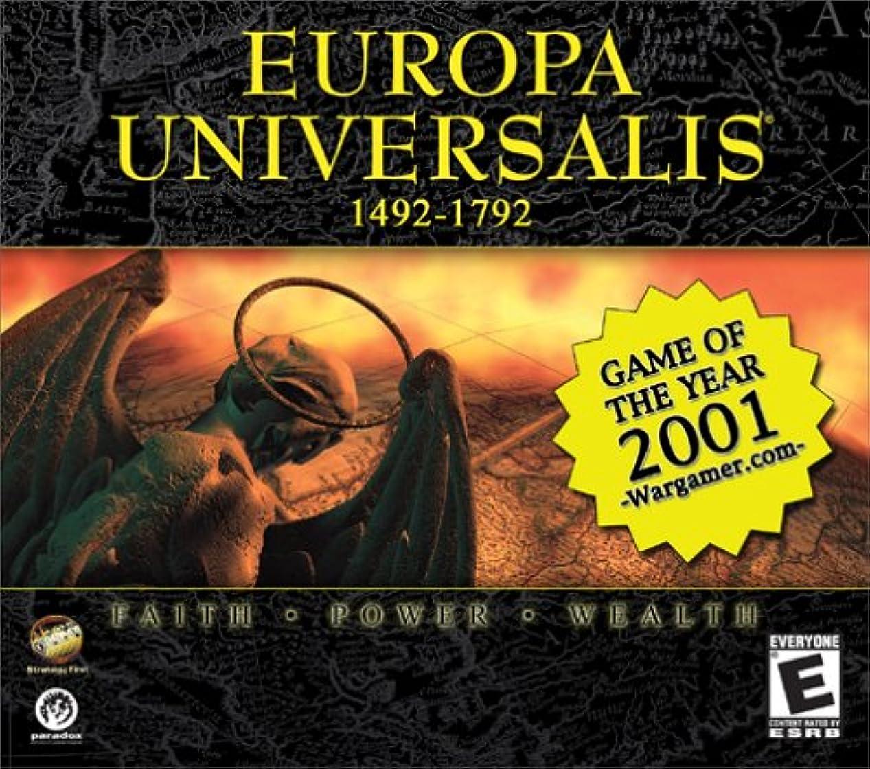 おもしろい次へ泥だらけEuropa Universalis (Jewel Case) (輸入版)