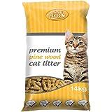 Feline First Premium Pine Wood Cat Litter 14kg