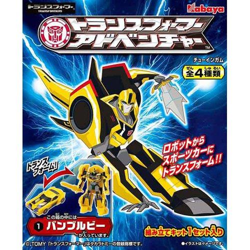 【ケース販売】カバヤ トランスフォーマーアドベンチャー 1枚×8個