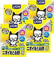 [Amazon.co.jp限定] 去除異味沙 貓砂 5.5升x4袋 (整箱販賣)