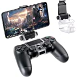 FiiMan PS4 Controller Phone Clip, PS4 Slim Pro Controller Grip for Android Smart Phone, 180 Degree Gaming Holder Mount Stand