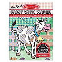 My First Paint with Water - Animals: Activity Books - Coloring/Painting/Stickers