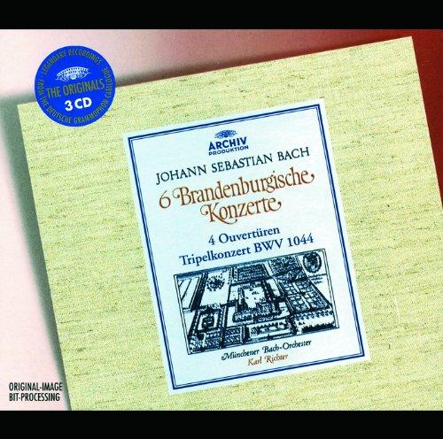 バッハ:管弦楽組曲/ブランデンブルク協奏曲(全曲)