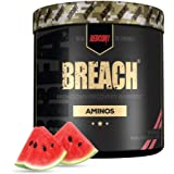 Redcon1 - Breach BCAAs (30 Servings) - Amino Acids, 2:1:1 BCAA Ratio, Increase Recovery, Caffeine Free, Strength and Enduranc