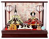吉徳大光 雛人形 ひな人形 ケース飾り 親王飾り h283-yscp-322064