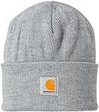 (カーハート)Carhartt Acrylic Watch Hat A18-13F  ニットキャップ ニット帽 ワッチキャップ 帽子 ビーニー Heather Gray F