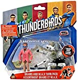 Thunderbirds Are Go Brains & M.A.X. 3.75'' Action Figure 2-Pack M.A.X. [並行輸入品]
