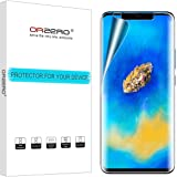 [3 Pack] Orzero for Huawei Mate 20 Pro HD [Premium Quality] Edge to Edge [Full Coverage] New Screen Protector, High Definitio