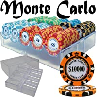 Brybelly Holdings pcs-2601 a pre-pack – 200 ct Monte Carloチップセットでアクリルトレイケース