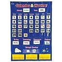壁掛け ポケットチャート 英語 カレンダー 天気