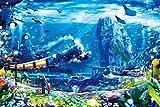 1500ピース ジグソーパズル パズルの達人 楠田諭史 アナザーワールド~海からの旅立ち スモールピース(50x75cm)
