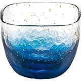 東洋佐々木ガラス グラス 冷酒杯 江戸硝子 八千代窯 藍 65ml 10796