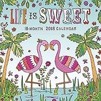 Life is Sweet 2018 Wall Calendar [並行輸入品]